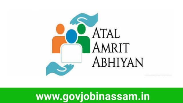 Atal Amrit Abhiyan Society Assam Recruitment 2018