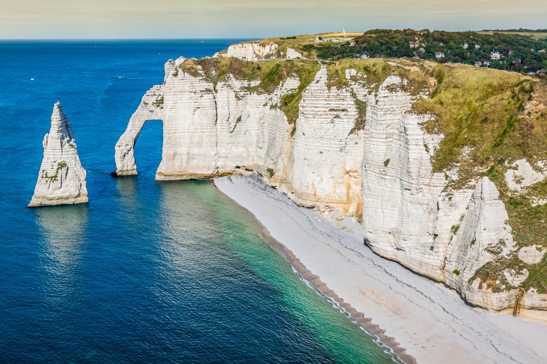 Скалы Этрета во Франции