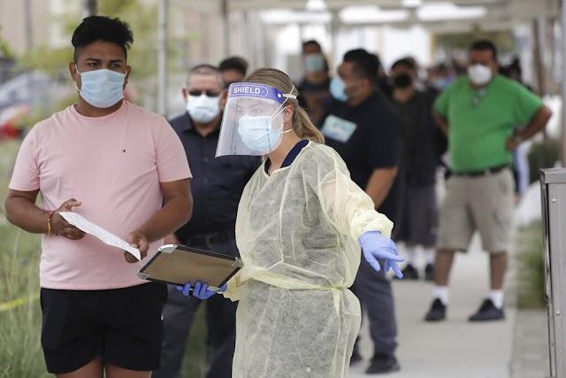 MUNDO-EUA ultrapassam 12 milhões de infecções por Covid-19
