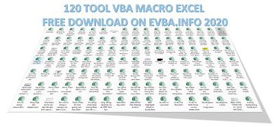[Free Download]New 2020 free 120 Tool Macro VBA Excel Files on EVBA.info