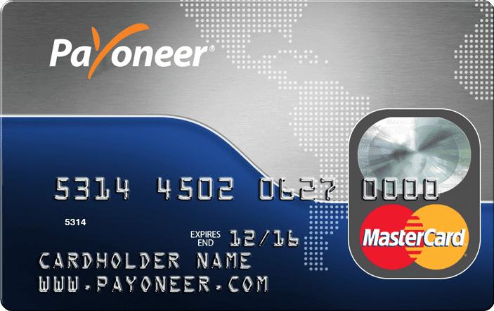 Tarjeta de débito Payoneer