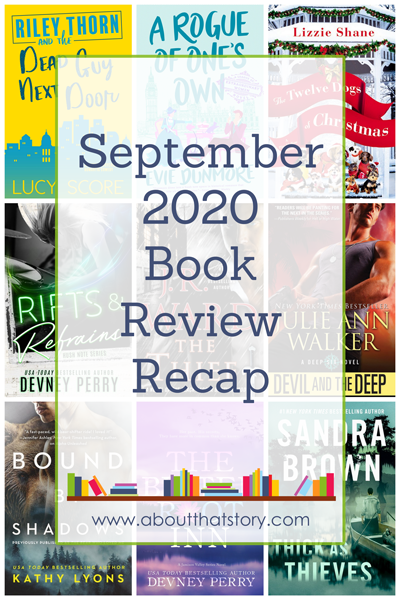 September 2020 Book Review Recap | About That Story