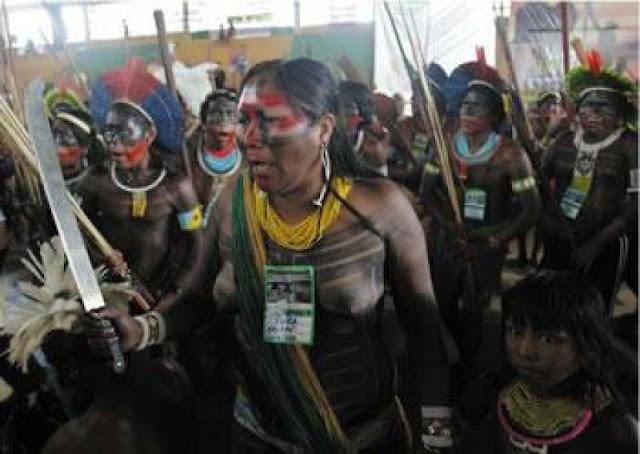 Acampamento Terra Livre contra barragem Belo Monte: passo 'profético' rumo ao Sínodo e à miséria tribal