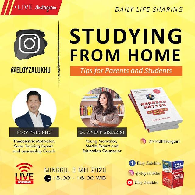 vivid argarini studying from home eloy zalukhu