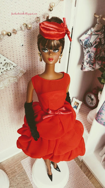Little Red Dress Barbie® Doll 2015