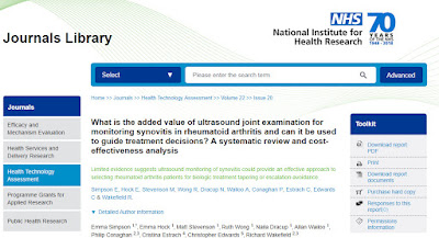 Image of HTA report webpage