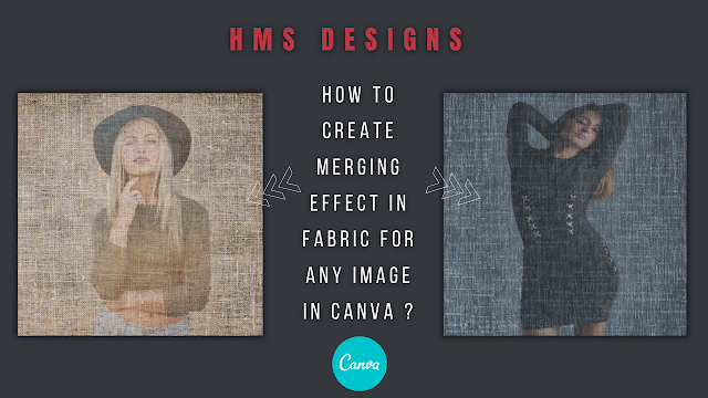How to create merging effect in fabric for any image in Canva ?