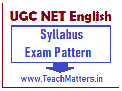 image : UGC NET English Syllabus - Exam Pattern @ TeachMatters