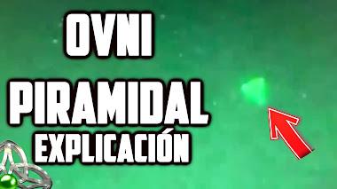 El vídeo que muestra un OVNI PIRAMIDAL es real según el Pentágono (Explicación)