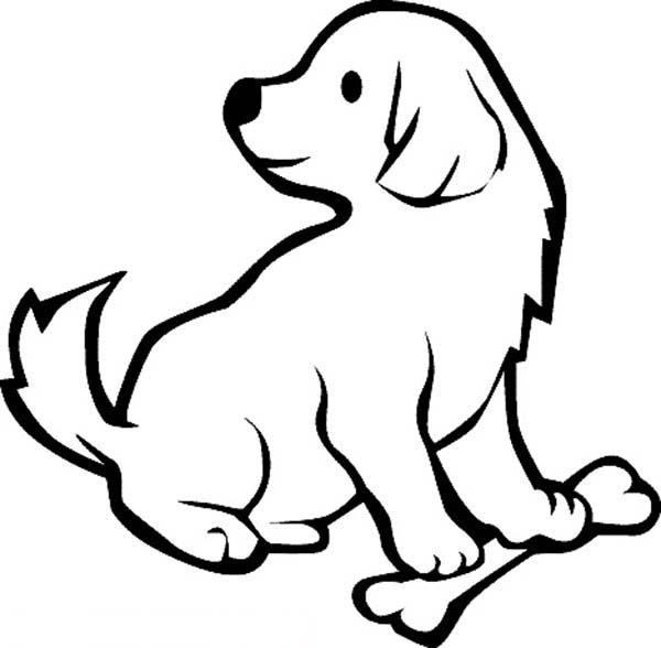 25 gambar mewarnai anak anjing terbaru 2018