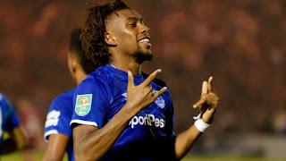 Iwobi open is goal scoring account for Everton