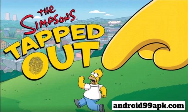 لعبة The Simpsons : Tapped Out v4.41.0 مهكرة بحجم 54 MB للأندرويد