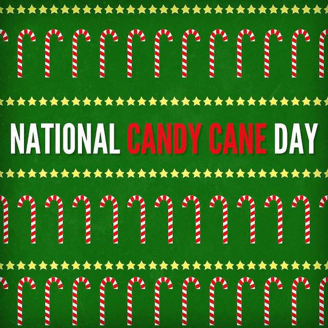 National Candy Cane Day Wishes Unique Image