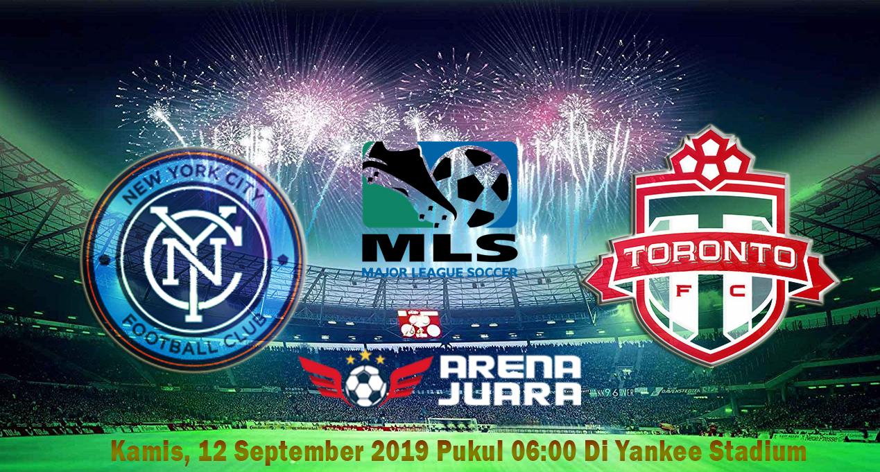 Prediksi Liga MLS - New York City vs Toronto 12 September