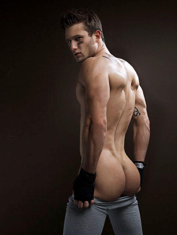 nude male model ass