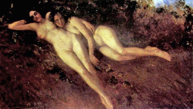 John Samuel Watkins, Il nude in arte
