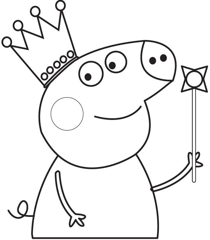 Disegni da colorare disegni da colorare peppa pig for Maschere di peppa pig da colorare