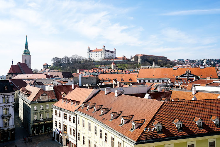 Fotograficznie: Over the roofs of Bratislava