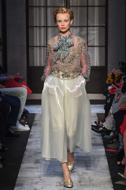 Schiaparelli Fall 2015 Couture Fashion Week