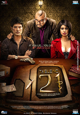 Download Table No. 21 (2013) Hindi Full Movie HDRip || 480p [300MB] | 720p [1GB] | 1080p [2GB]