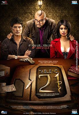 Download Table No. 21 (2013) Hindi Full Movie HDRip    480p [300MB]   720p [1GB]   1080p [2GB]