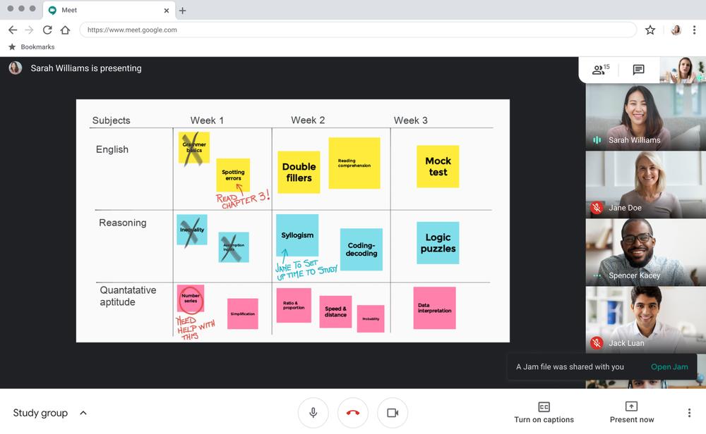 Google Meet ottiene nuove funzionalità di sicurezza e collaborazione