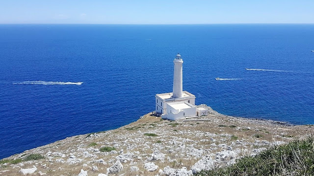 Vacanze in Puglia Otranto, faro di Punta Palascia