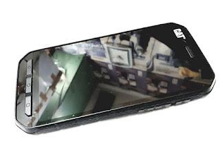 LCD Touchscreen Caterpillar Cat S41 Plus Frame Original 100% Seken