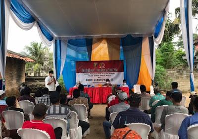 Budhi Condrowati Sosialisasikan Perda Provinsi Lampung Nomor 3 Tahun 2020 di Mekar Asri, Tubaba