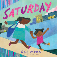 saturday by oge mora book cover