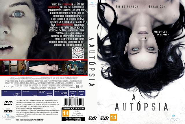 Capa DVD A Autópsia [Custom]