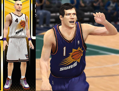 NBA 2K13 New Phoenix Suns Home & Away Jersey Patch