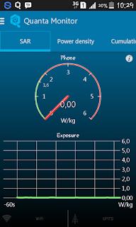 Aplikasi Monitor Paparan Radiasi Smartphone Android Berukuran Kecil
