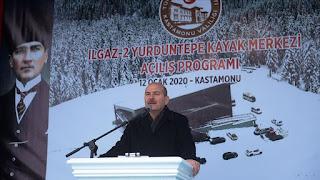 تركيا.. افتتاح أحد أكبر مراكز التزلج في البلاد