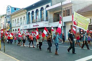 protestas en la amazonia