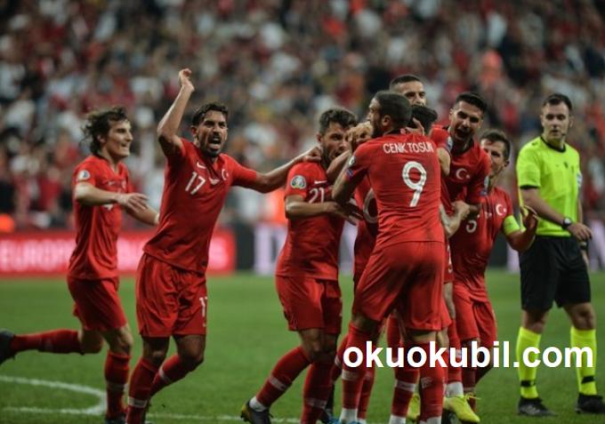 Milli Maçta Ecel teri Döktük Geç Gelen Gole Sevindik. Türkiye 1 - Andorra 0