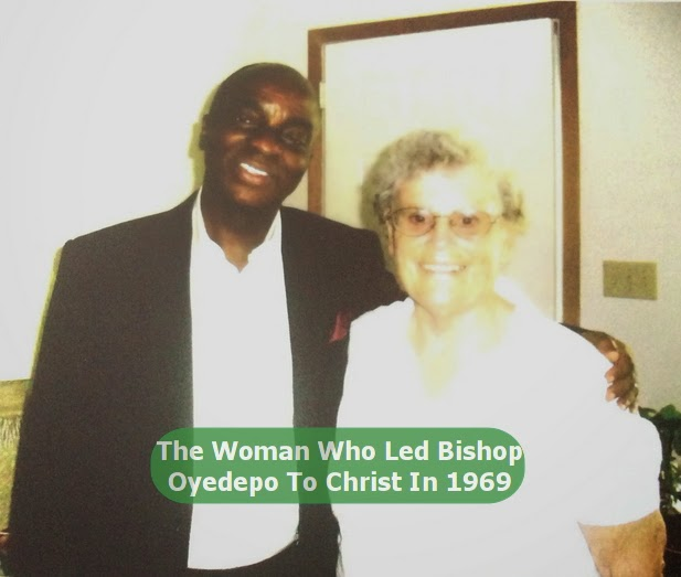missionary who led oyedepo to christ