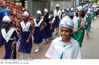 কলাপাড়ায় আন্তর্জাতিক সাক্ষরতা দিবস পালিত