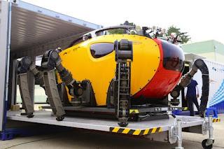 Underwater Walking Robot - Crabster CR200