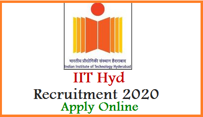 IIT Hyderabad Staff Recruitment 2020 - Apply Online https://recruitment.iith.ac.in/  Indian Institute of Technology Hyderabad inviting Applications Online from eligible aspirants for various jobs Get Post wise qualification details Important dates for Application Form submission exam dates. Last date to Apply Online at official website https://recruitment.iith.ac.in/ is 17.02.2020 5pm
