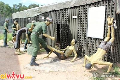 Tái hiện cảnh tra tấn tại nhà lao Phú Quốc