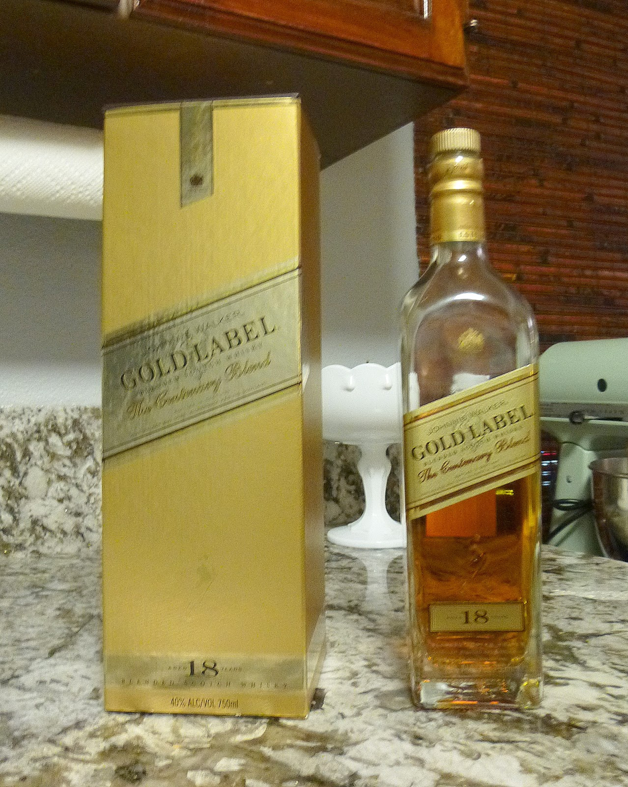 This is a picture of Current Mekong Whisky Gold Label