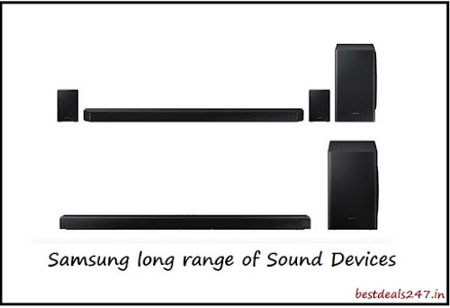 Samsung launches long range of sound devices