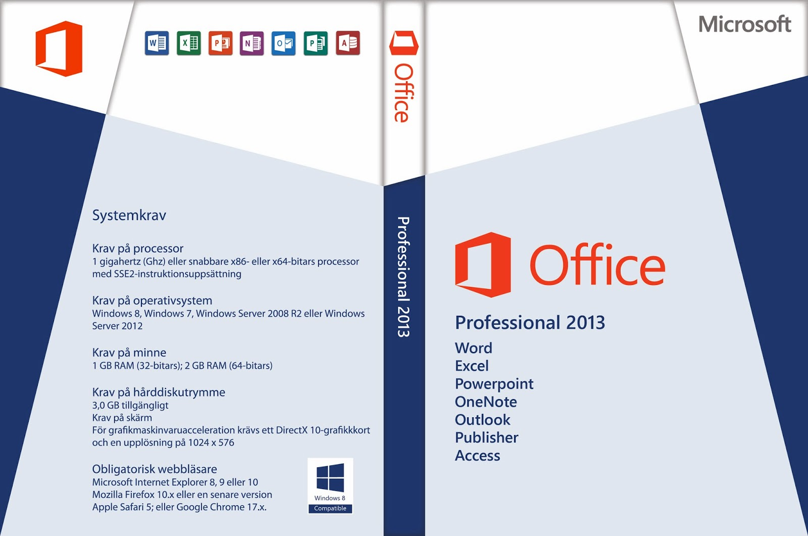 Office Professional 2013 Software