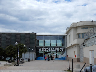 リヴォルノ水族館の入り口