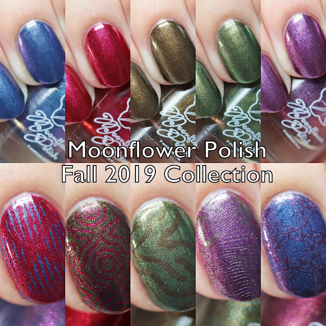 Moonflower Polish Fall 2019 Collection