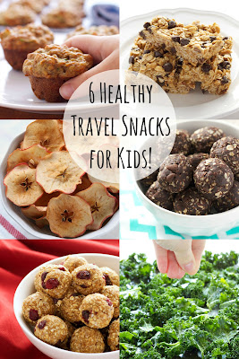 6 Healthy Travel Snacks for Kids