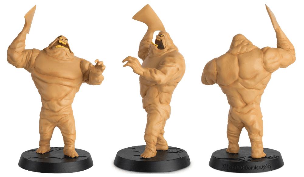 batman the animated series figurines collection, colección de figuras batman la serie animada, eaglemoss collections, hero collector, clayface figurine, cara de barro
