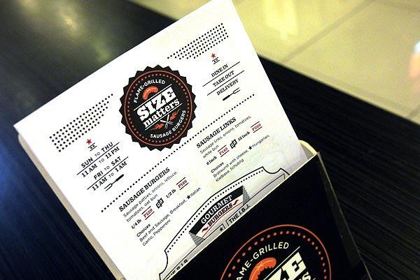 Menu Card Designs For Cafe
