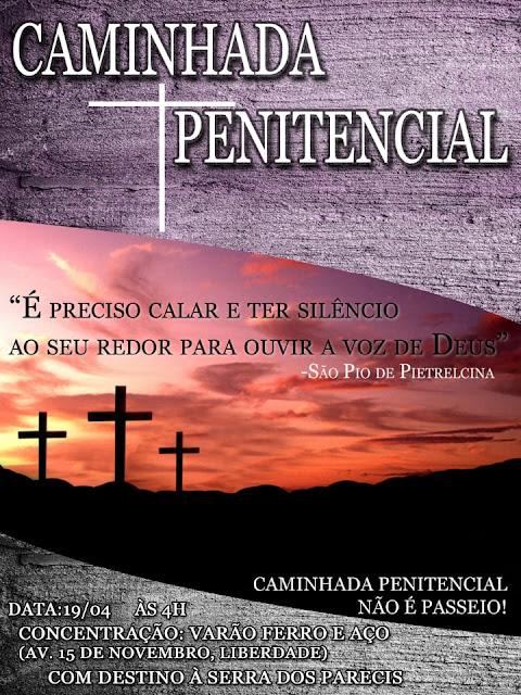 Caminhada Penitencial acontece nesta sexta-feira Santa em Guajará-Mirim